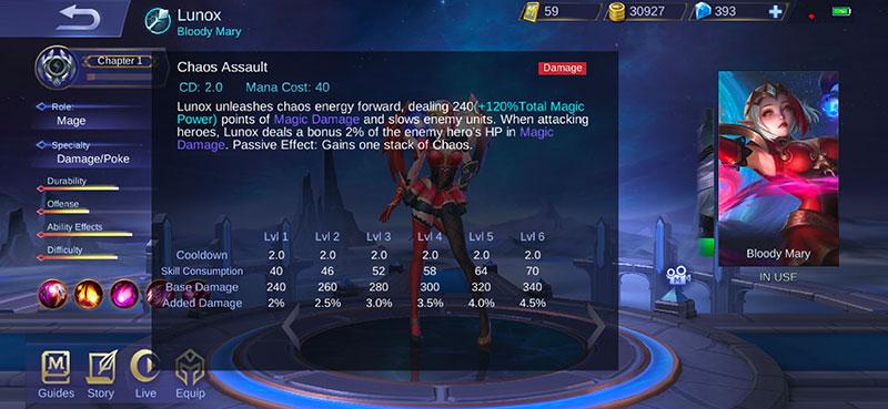 pahami skill dan kekuatan hero