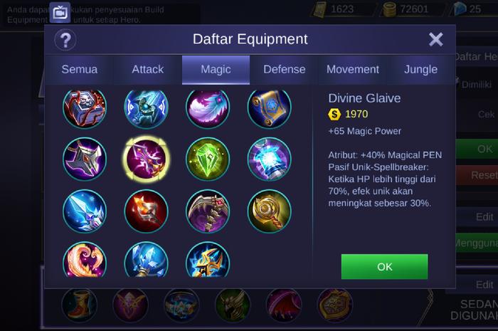 tips memilih equipment dan item yang tepat saat duel