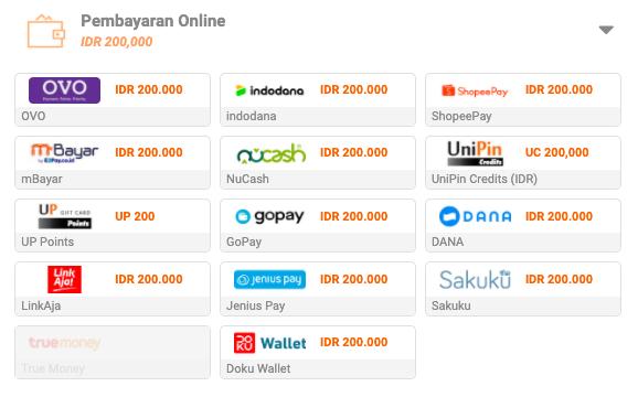 cara pembayaran online