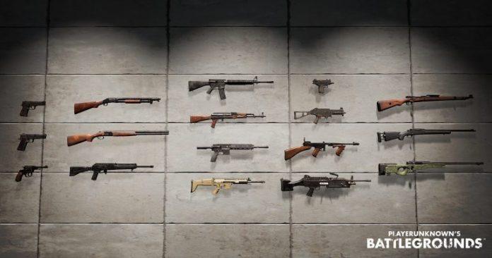 lebih lengkap tentang jenis jenis senjata pubg online