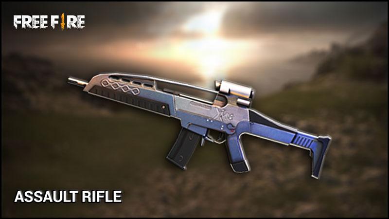 Membandingkan 3 Assault Rifle Free Fire Terbaik M4a1 Scar Dan Xm8