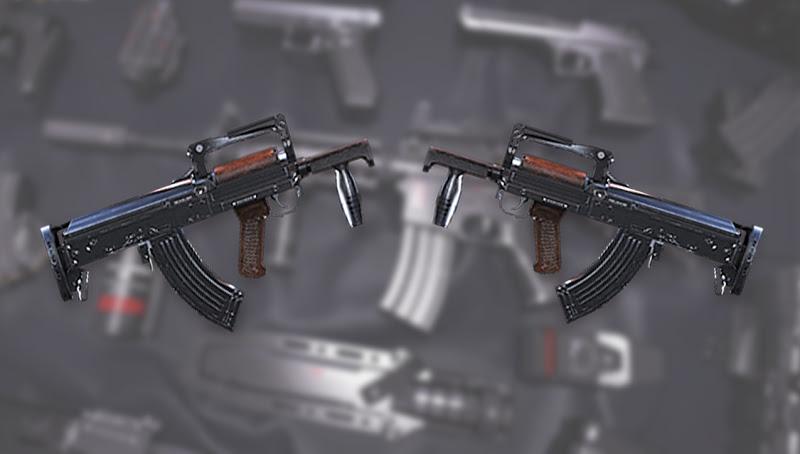 senjata groza free fire