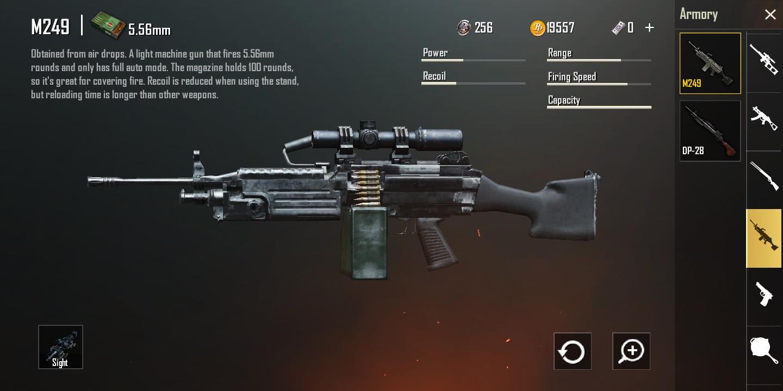 senjata m249 ff