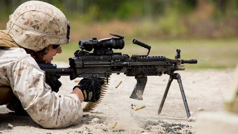 senjata m249