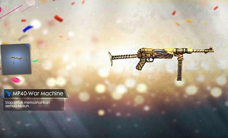 senjata mp40 free fire