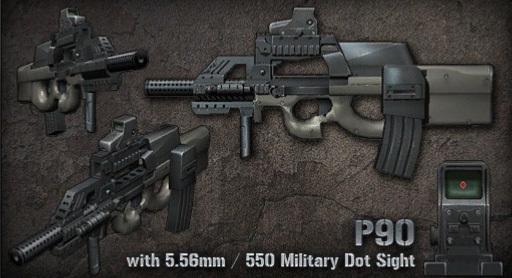 senjata p90 rustron