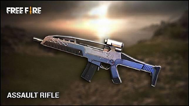 xm8 senjata di free fire yang punya akurasi besar