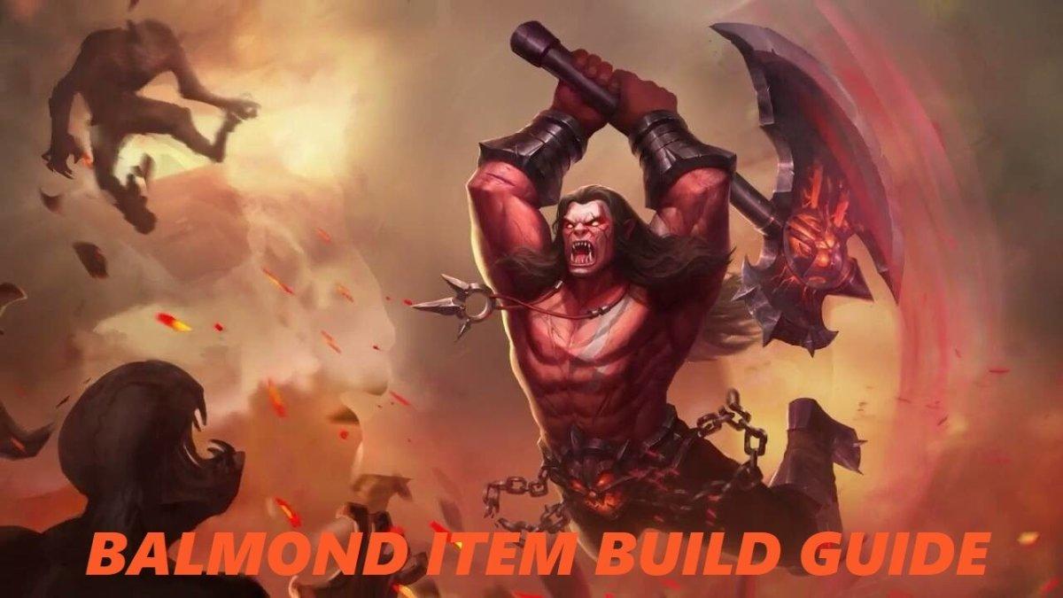 balmond mobile legend guide