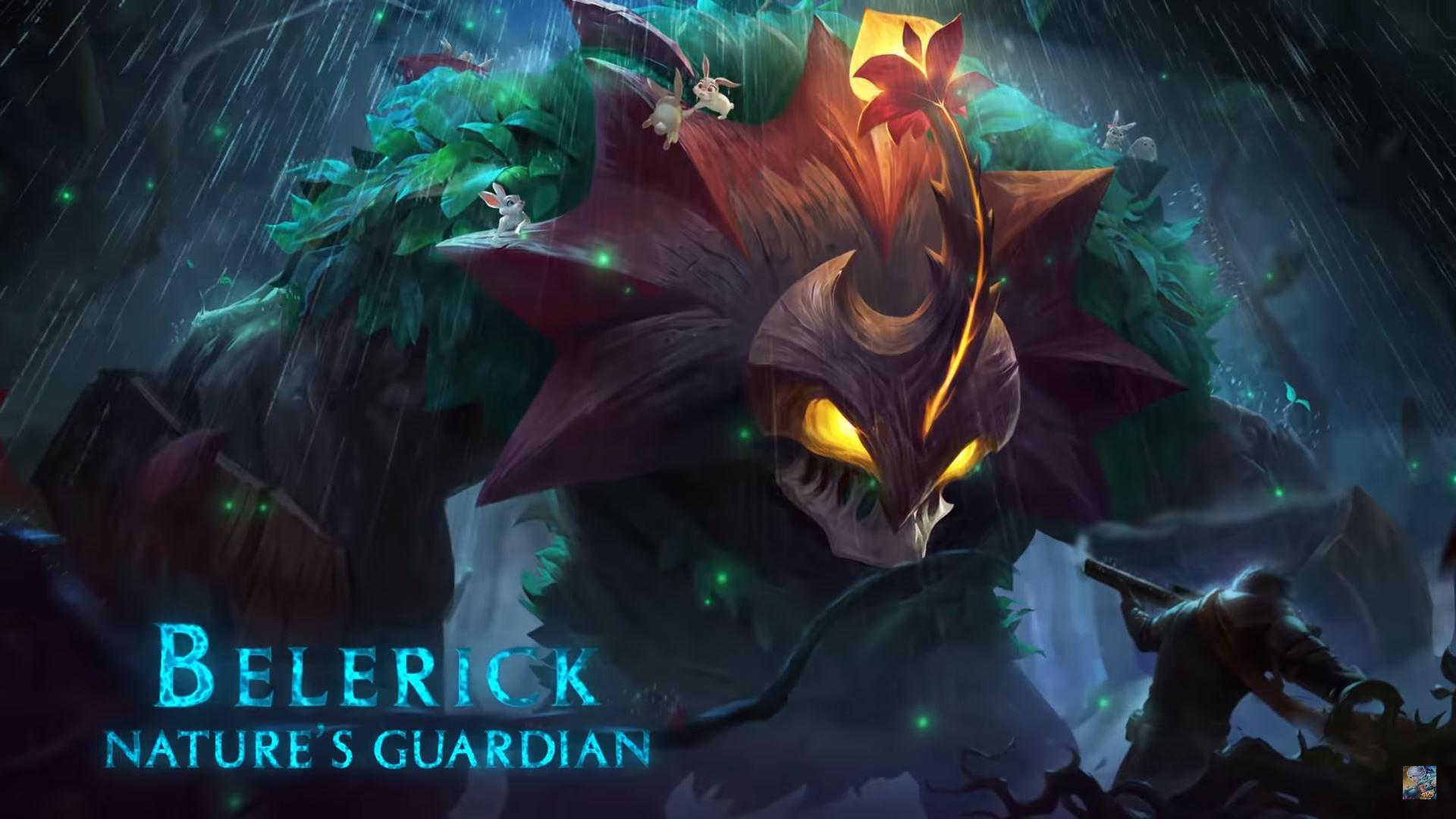 Belerick Mobile Legend, Hero Penjaga Hutan Tersakit yang Baik Hati