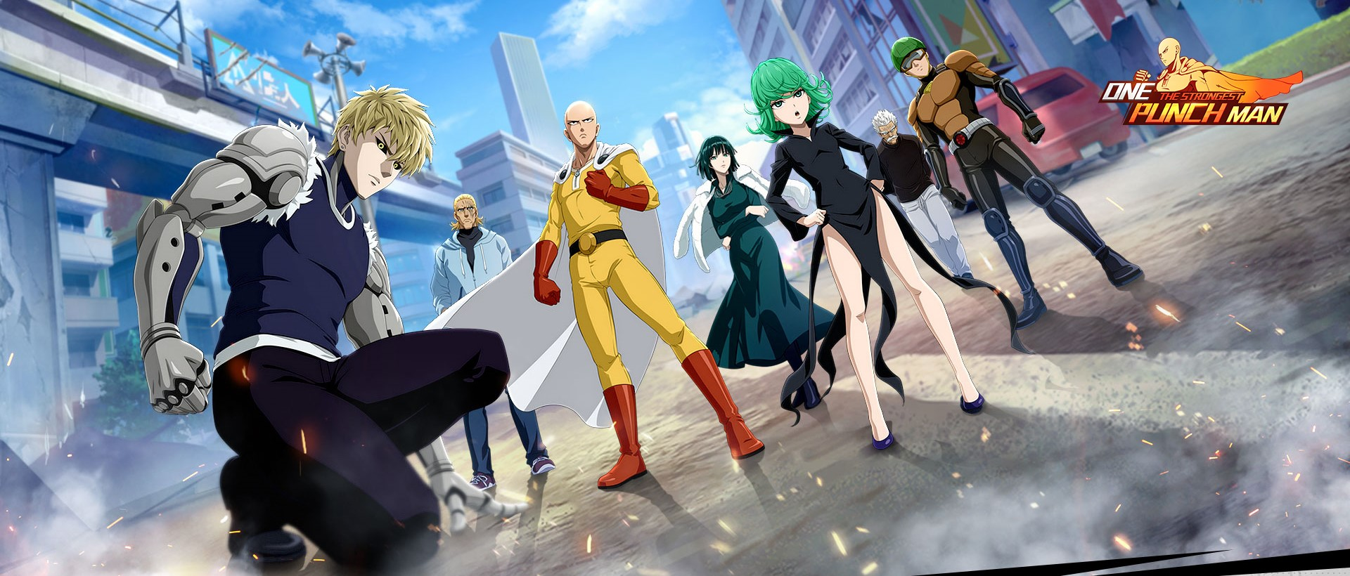 download one punch man the strongest pc