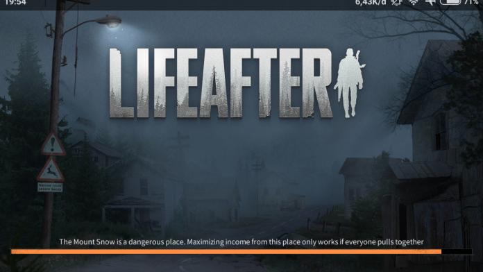lifeafter game survival game yang populer di 2020