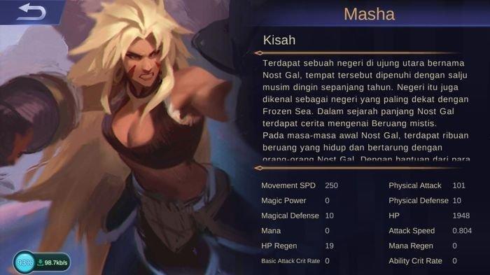 masha mobile legends story