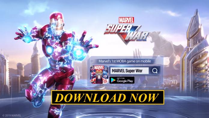panduan download marvel super war di android ios dan pc