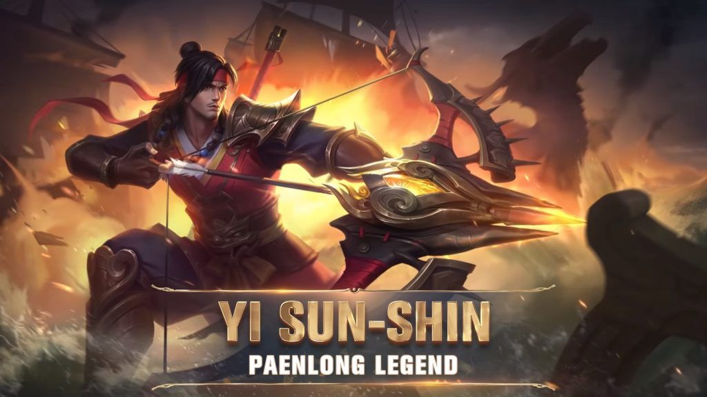 yi sun shin mobile legends story