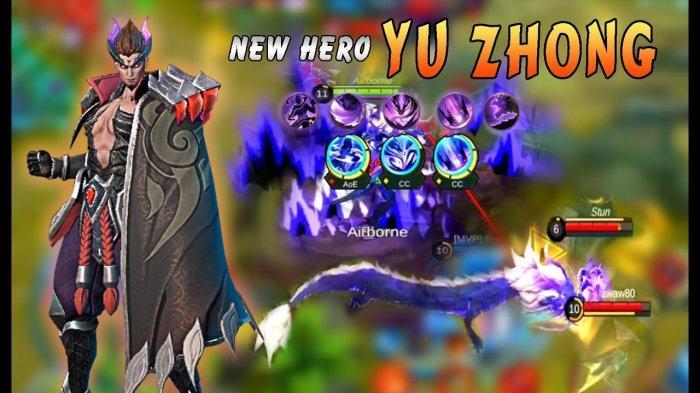 yu zhong mobile legend build