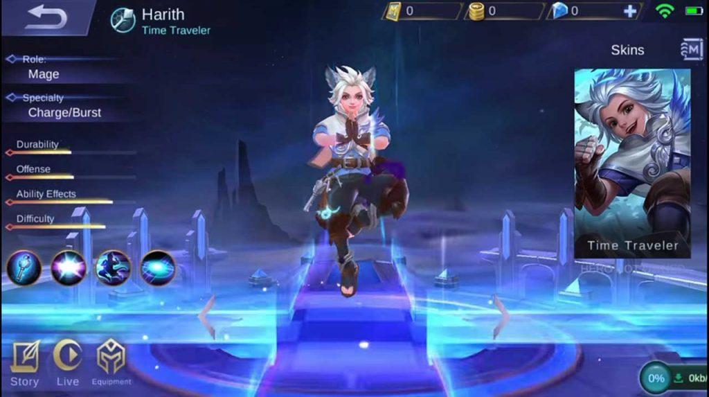 harith mobile legends skill