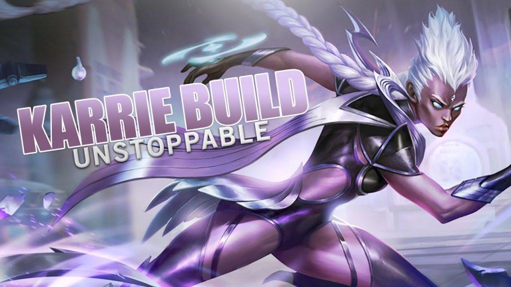 karrie mobile legends skill