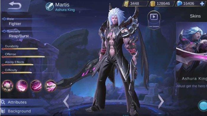 martis mobile legends skill