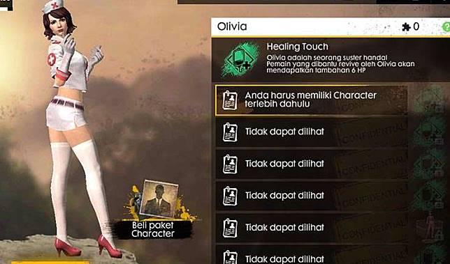 olivia free fire