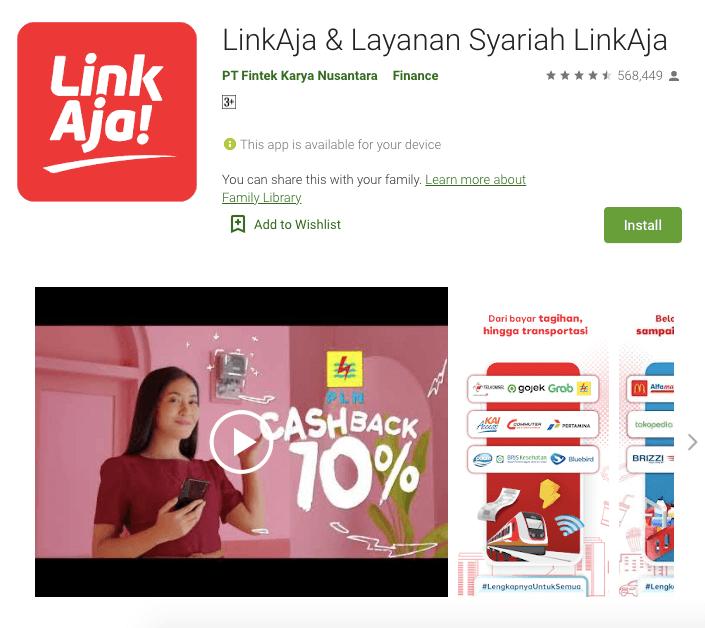 aplikasi linkaja