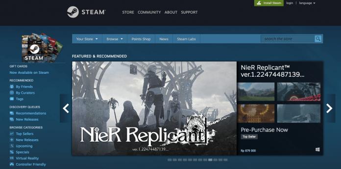 beli game Steam di Indomaret