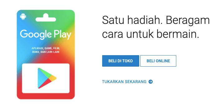 bentuk kode voucher google play