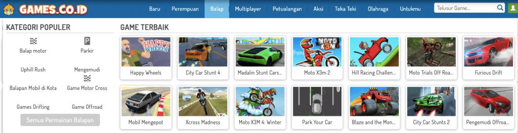 kategori game
