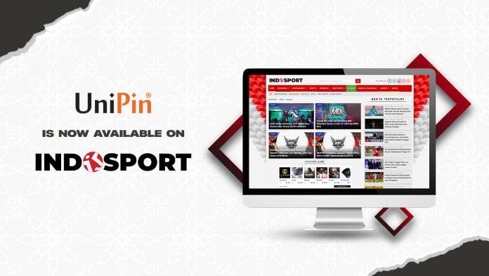 kerja sama UniPin Indosport.com