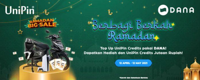 promo berkah ramadan UniPin DANA