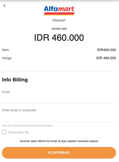konfirmasi pembelian PSN Card
