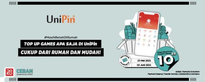 promo top up game pakai Doku di UniPin