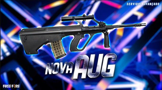 baru dirilis, begini tampilan senjata aug ff