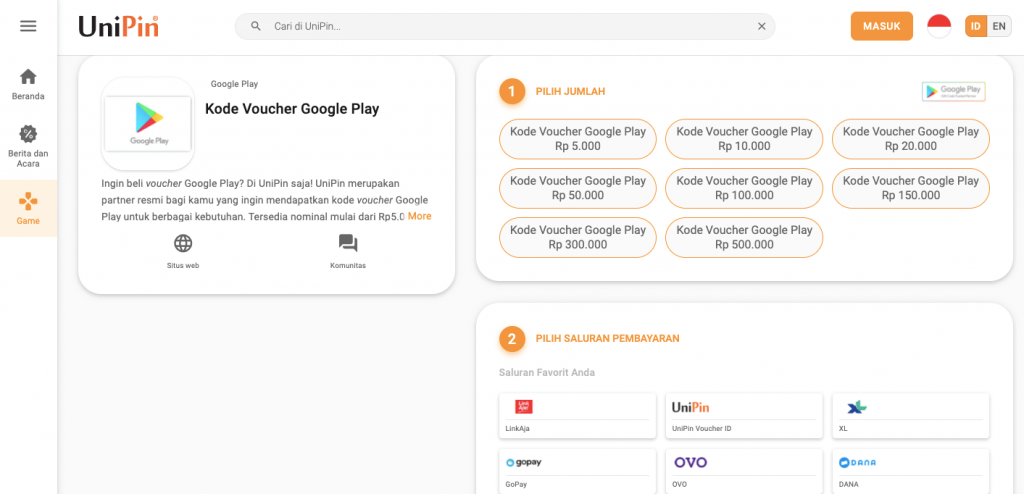 beli kode voucher google play