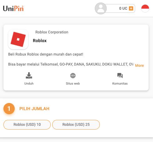 beli robux UniPin