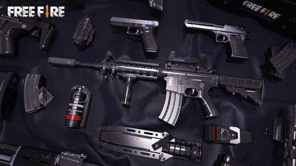 cara menggunakan senjata m14 free fire