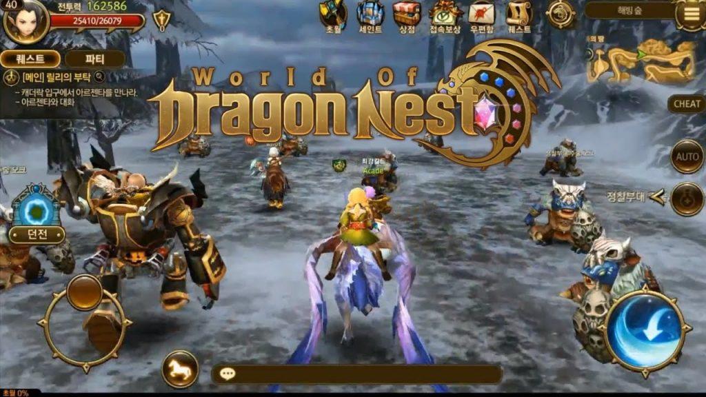 download dragon nest m
