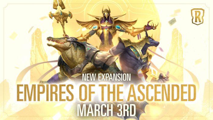 empires of the ascended_ update baru dari legends of runeterra