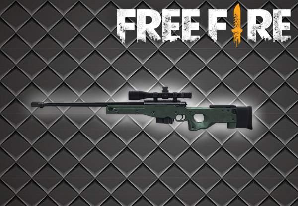 gambar senjata awm free fire