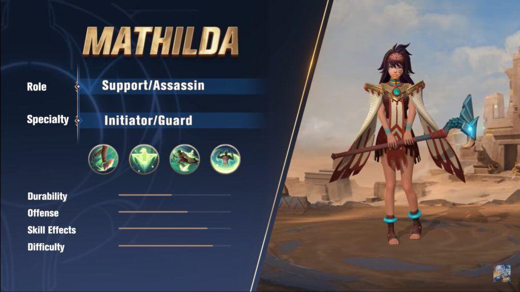 item mathilda mobile legends