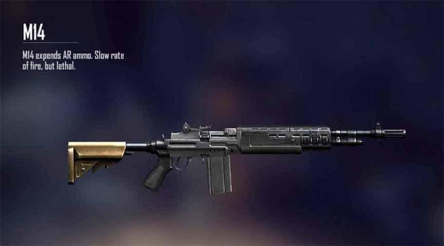 kemampuan senjata m14