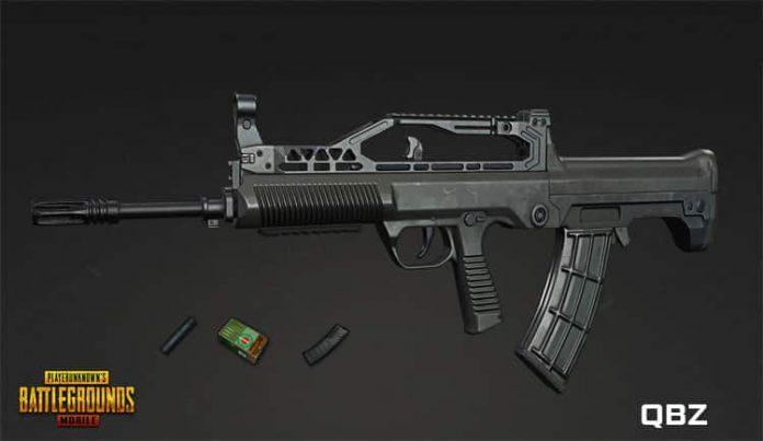 ketahui keunggulan senjata qbz pubg yang bisa dimanfaatkan