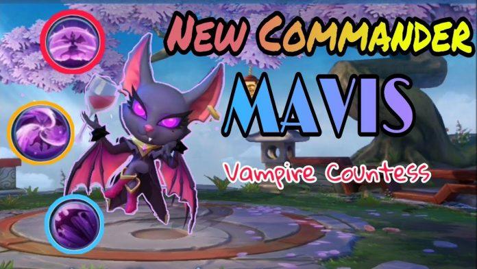 mavis magic chess, vampire countess yang punya 3 skill keren