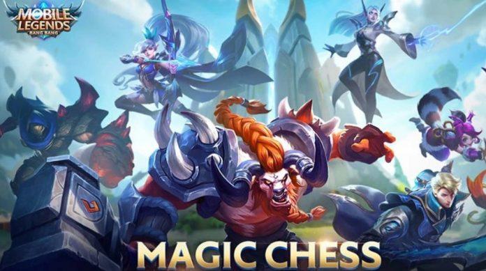 menang main mobile legend, coba pakai combo hero magic chess ini