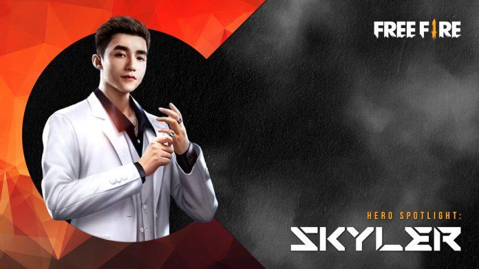mengenal skyler, karakter superstar di free fire yang punya skill wall destroyer