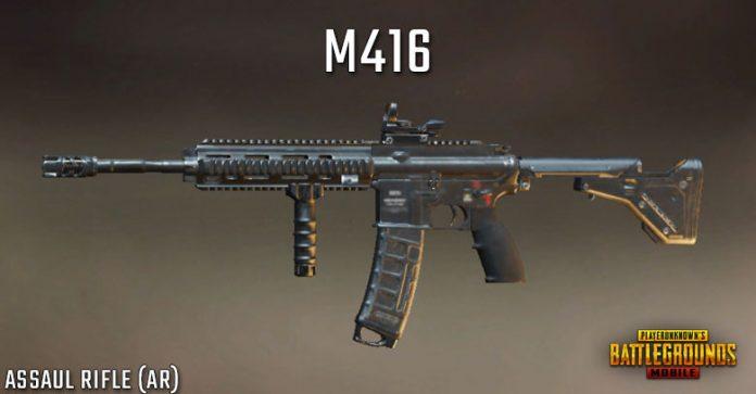 menggunakan senjata m416 pubg untuk pengalaman bermain terbaik