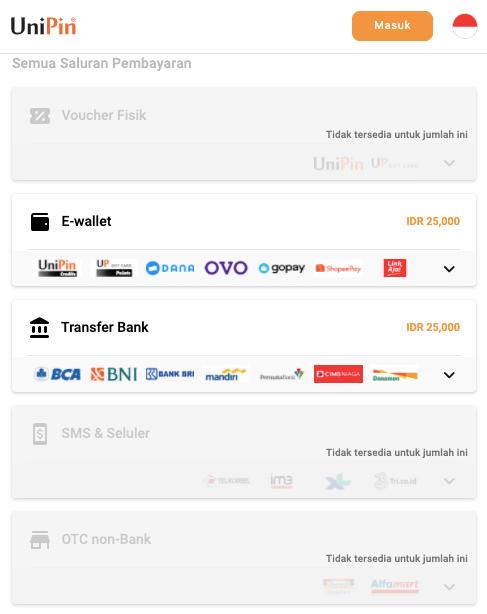 metode pembayaran Mola TV