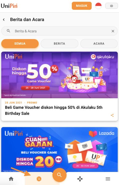 promo terbaru UniPin
