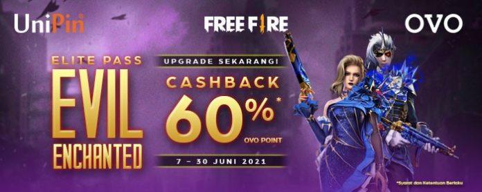promo top up ff terbaru cashback hingga 60% pakai ovo