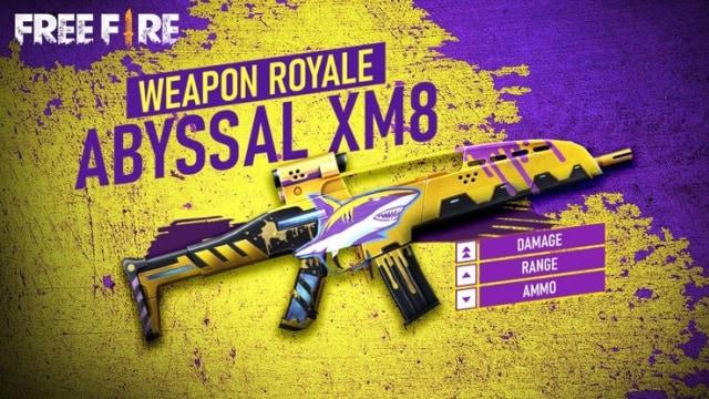 senjata baru ff aug