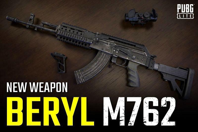 senjata m762 pubg